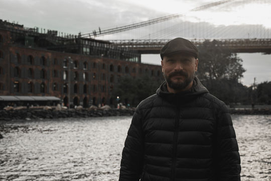 Youtuber Joan Vendrell de Espanha en New York